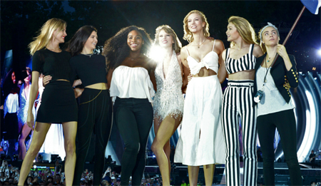 clan de amigas de Taylor Swift